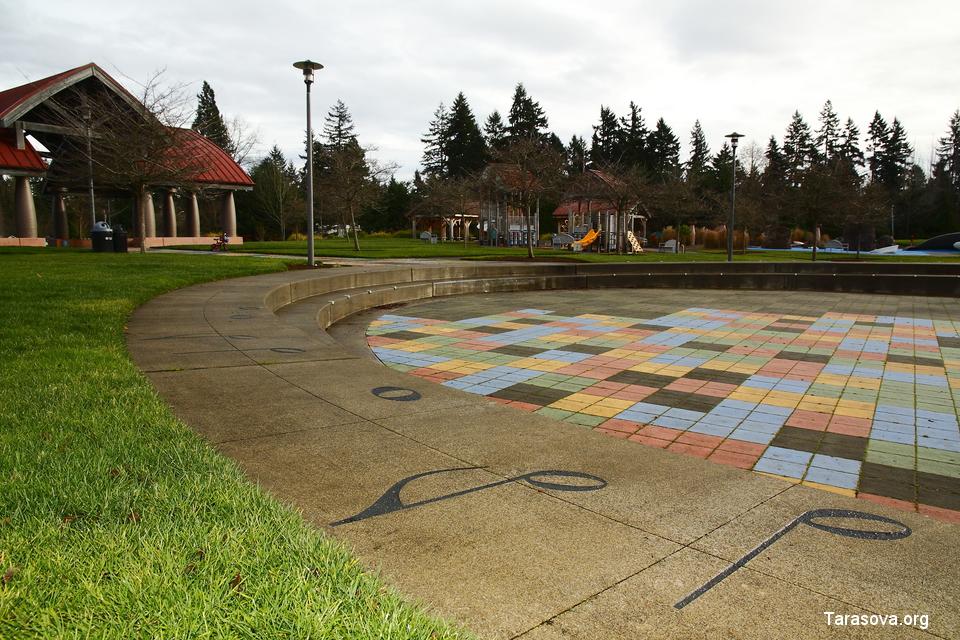 Кроссроадс-парк в Беллвью. Фото. Видео. Crossroads park. Bellevue. Часть 2