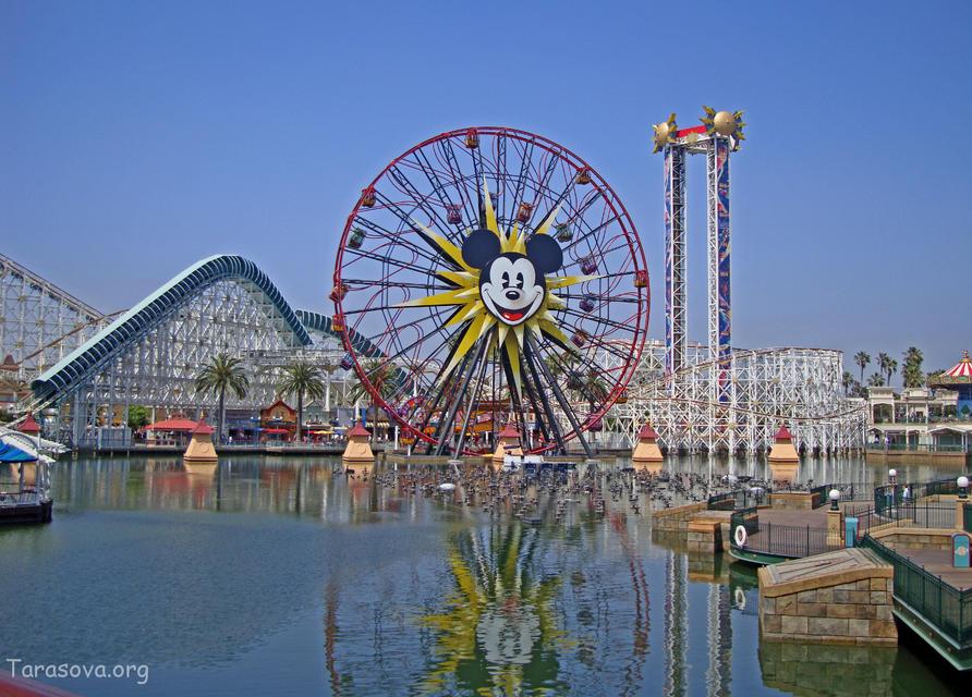 Диснеевский Парк Приключений, Калифорния Часть 4  (Disney's California Adventure Park, Part 4)