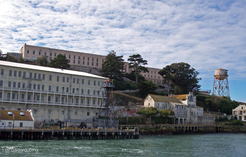 Тюрьма-Остров Алькатрас, Калифорния (Alcatraz, California)