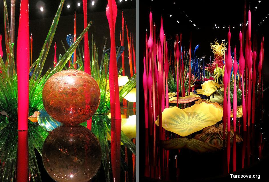 Фантастический сад из стекла