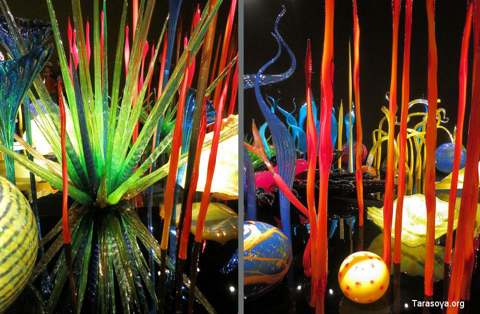 Удивительный стеклянный сад Дейла Чихули